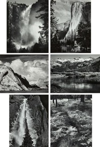 selected images (6 works) by ansel adams