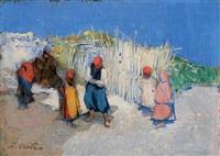 paysans arabes by daniel cortes