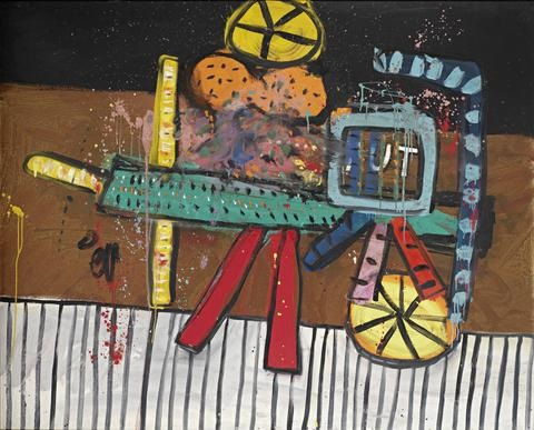 little tuts wagon by alan davie