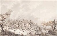 combat de cavalerie by dirk langendyk