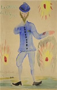le caporal de la légion (blaise cendrars) by guillaume apollinaire