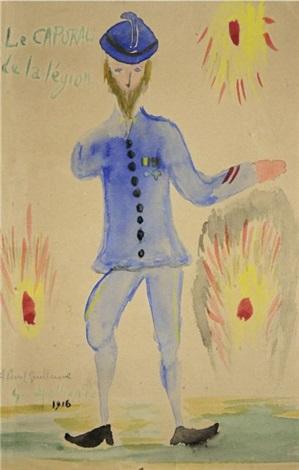 le caporal de la légion blaise cendrars by guillaume apollinaire