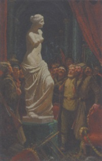 bolsheviks breaking into the hermitage by andrei lysenko