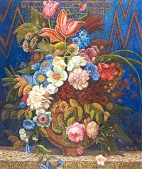 flor azul by carlos pfeiffer