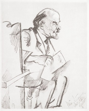 lenin by natan isaevich altman