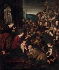 die anbetung der heiligen drei könige by italian school (16)