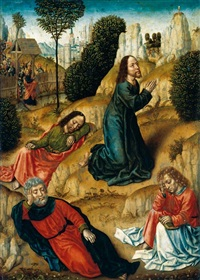the agony in the garden by flemish school-bruges (15)