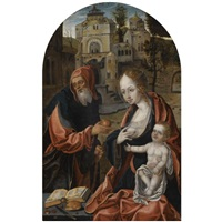 the holy family by dutch school-southern (16)