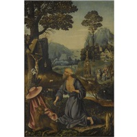 the penitent saint jerome by joachim patinir