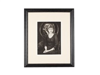 portrait of margaret by edward burne-jones