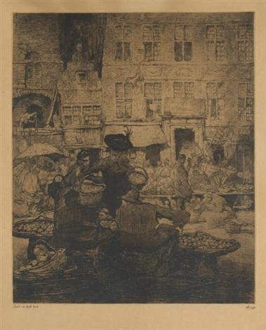 le marché aux fruits à gand by jules de bruycker