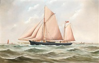 the ketch mayland, the ketch hopwell by john fannen
