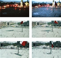 zócalo, may 22, 1999 by francis alÿs