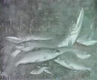 stilleben mit susswasser- fischen by henry jervis alfred