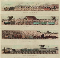 railway conveyances from liverpool to manchester by a. ackermann and son