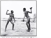 les amis peulhs, jour de fête (+ another; 2 works) by malick sidibé