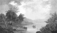 seelandschaft by a. melzer