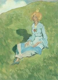 prinsessan i det gröna, normandie by ivar arosenius