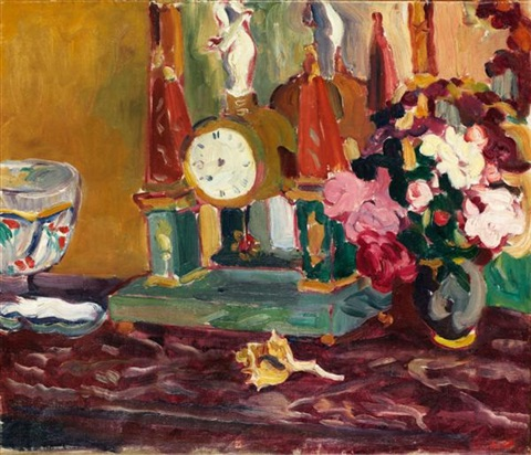 nature morte au pendule by louis valtat