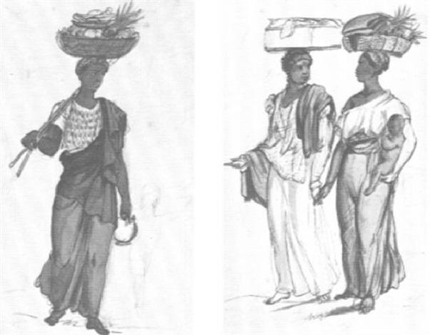 personaje indígena by johann moritz rugendas