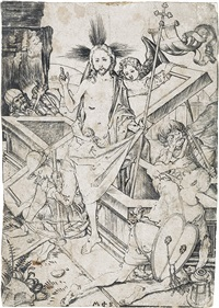 the resurrection by martin schongauer