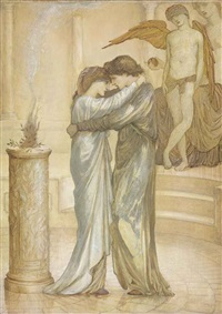 the altar of hymen by edward burne-jones