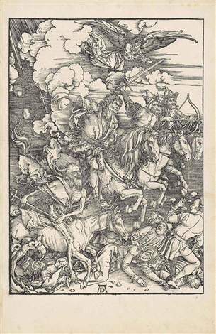the four horsemen from the apocalypse by albrecht dürer