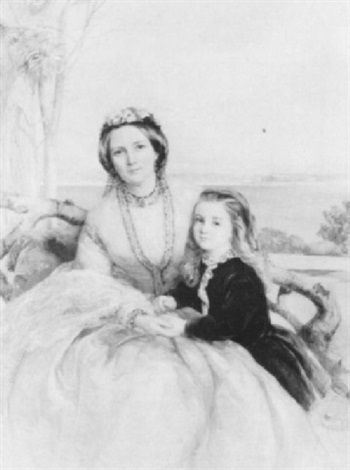 portrait of anna maria horton nee hamilton of sundrum by isabel oakley naftel