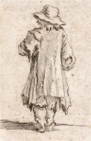 jeune garçon vue de dos by jan miel