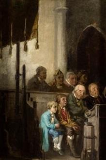 atentos al sermón by joaquín agrasot y juan