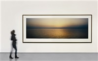 lake galilee before sunrise by wim wenders