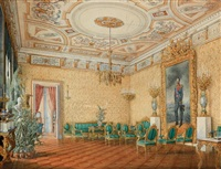 palace interior by eduard hau