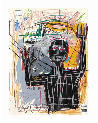 furious man by jean michel basquiat