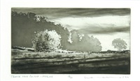 st. davids (+ linton in craven; 2 works) by norman ackroyd