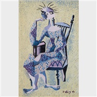 femme assise by jean-philippe dallaire
