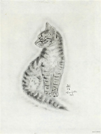 from book of cats by léonard tsuguharu foujita