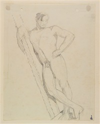 nudo virile by libero andreotti