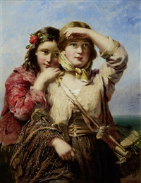 the fisherman's daughters by james john hill