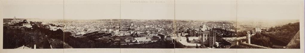 panorama di roma (in 5 parts) by domenico anderson