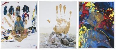 untitled (three works) by korakrit arunanondchai