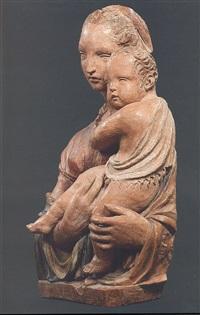 madonna con il bambino by donatello