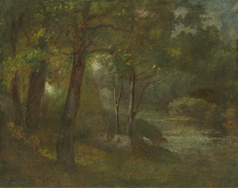 the brook by george inness