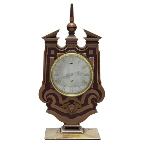 mantel clock made for the occasion of the marriage of colonel co harvey to miss im pritchard by edwin henry lutyens