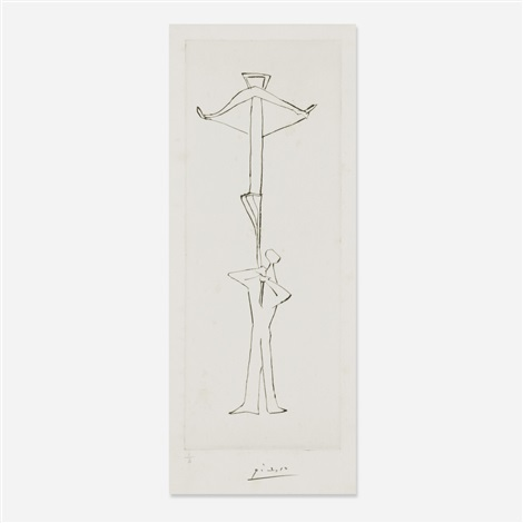 Untitled Le Frre Mendiant By Pablo Picasso