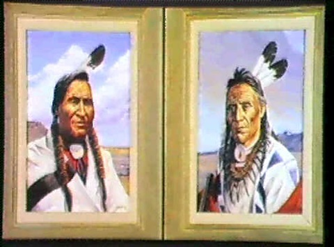 portraits sold as a pair a pair 2 by irvin shorty shope