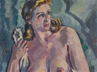 female nude by otto beyer