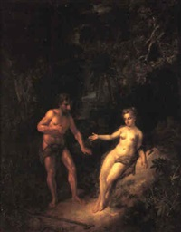 adam and eve in paradise by hendrik van limborch