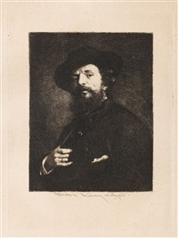 selfportrait by theodor aman