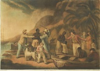 slave trade (after george morland) by john raphael smith