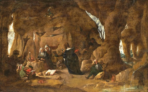 tentation de saint antoine by david teniers the younger